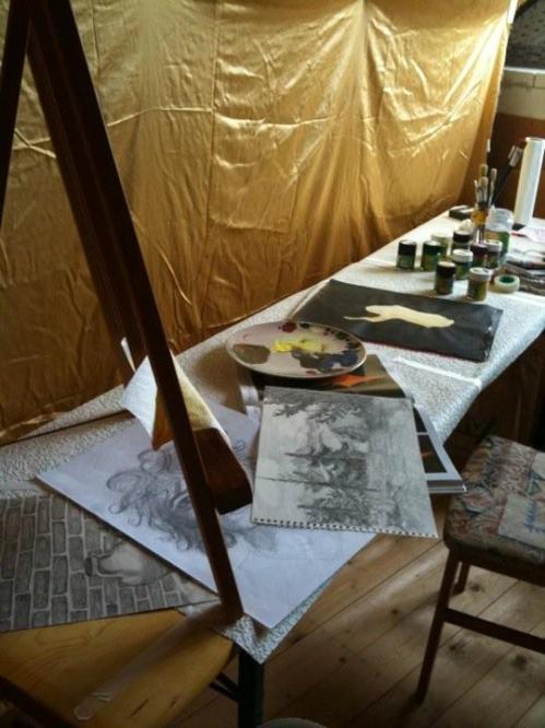 atelier neu. kivi freu. By Kivi Lake
