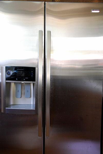 Refrigerator, by Fastily